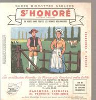 Buvard Biscottes ST HONORE Province De France Maine Et Loire - Zwieback