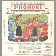 Buvard Biscottes ST HONORE Province De France LYONNAIS - Zwieback