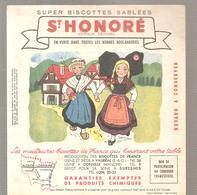 Buvard Biscottes ST HONORE Province De France ALSACE LORRAINE - Zwieback