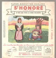 Buvard Biscottes ST HONORE Province De France CENTRE - Zwieback