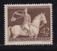 DEUTSCHES REICH, 1943, Unused Stamp(s), Brown Belt, MI 854, #16177 , - Unused Stamps
