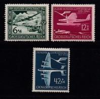 DEUTSCHES REICH, 1944, Hinged Unused Stamp(s), Airport Service, MI 866-868, #16190 , - Germany