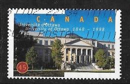 CANADA 1998. USED  # 1756  UNIVERSITY Of OTTAWA  TABARET HALL - 1952-.... Règne D'Elizabeth II