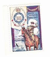 Vignette Militaire Delandre - Angleterre - Gloucestershire Yeomanry - Erinnofilia