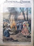 La Domenica Del Corriere 19 Maggio 1929 Arkansas Congo Africa Principe Umberto - Libri, Riviste, Fumetti