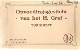 Mapje Met 16 Postkaarten Turnhout Opvoedingsgesticht Van Het H. Graf (zie Scans) 1929 - Turnhout
