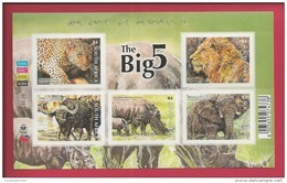 REPUBLIC OF SOUTH AFRICA, 2014, Mint Never Hinged Block, The Big 5 (B4) F2499A - Ongebruikt