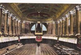 Germany Wiesbaden Das neue Kurhaus Der grosse Konzertsaal