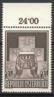 Österreich 1025 Oberrand ** Postfrisch - 1945-60 Ungebraucht