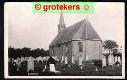 JUBBEGA SCHUREGA Ned. Hervormde Kerk Met Kerkhof 1931 - Autres