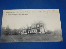 BEAUVECHAIN -  Le Château De Mr Georges Streel - Beauvechain