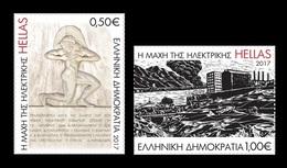 Greece 2017 Mih. 2966/67 World War II. Battle Of Keratsini Power Station MNH ** - Grecia
