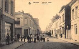 Antwerpen Anvers  Berchem   Statiestraat Rue De La Station Kinderen Op Straat      I 3827 - Antwerpen