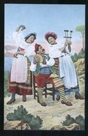 COSTUMI  DI SORRENTO - INIZI 900 - LA TARANTELLA - Costumi