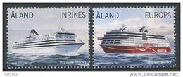 Aland 2014 N°386/387 Neufs Bateaux Ferrys - Aland