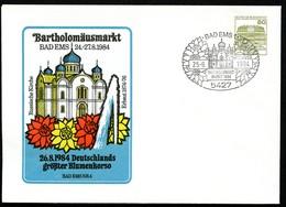 Bund PU117 D2/010 BARTHOLOMÄUSMARKT RUSSISCHE KIRCHE Bad Ems Sost.1984 - Churches & Cathedrals