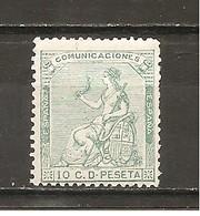 España/Spain-(MH/*) - Edifil  133 - Yvert  132 - Nuevos