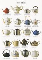 TEA TIME - TEAPOTS. MODERN - Postcards