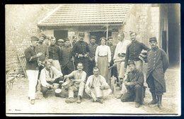 Cpa Carte Photo Militaires Du 51ème   Sept18-06 - Regiments