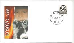 1999 KOSSOVO Storia Postale Busta Commemorativa - Kosovo