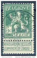 D- [DEL-260-14] O/used-N° 110 Obl Marbais TB - 1912 Pellens