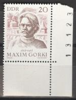 DDR 1351 Eckrand Mit Bogennummer ** Postfrisch - Ungebraucht