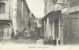 DPT 84 MERINDOL Rue De La Fontaine CPA TBE Rare - Andere Gemeenten