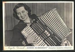 CPA Angela Gornadi, Rekord In Akkorden, Saxophon-Xylophon-Akkordeon - Musica E Musicisti