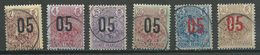 Guinée YT N°55-56-57-58-59-60 Berger Surchargé Oblitéré ° - Guinée Française (1892-1944)