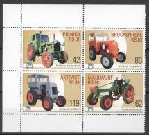Privatpost Nordkurier 2007 Viererblock Traktoren ** Postfrisch - BRD