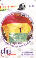 BOLIVIA(chip) - Tu OTRA Piel/1990-2000, Chip GEM3.2, 06/02, Used - Bolivia