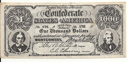 USA 1000 DOLLARS 1861  Reproduction - Other