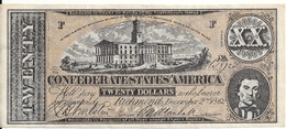 USA 20 DOLLARS 1862  Reproduction - United States Of America