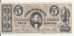 USA 5 DOLLARS 1864  Reproduction - United States Of America