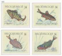 D- [153043] **/Mnh-[2383/86] Belgique 1990, Nature, Poissons Divers, Du Carnet 20, SC, SNC - Poissons