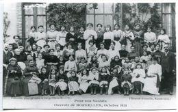 PAS CP > Tirage Photo Glacée D'une CPA : Pour Nos Soldats Ouvroir De BONNELLES Octobre 1914 - France