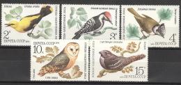 Sowjetunion 4883/87 ** Postfrisch - 1923-1991 UdSSR