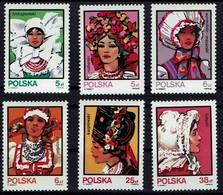 Polen 1983 - Trachten - MiNr 2891-2896 - Kostüme