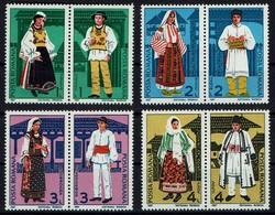 Rumänien Romana 1987 - Trachten - MiNr 4398-4405 - Kostüme