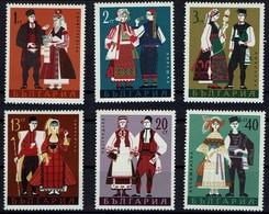 Bulgarien Bulgaria 1968 - Trachten - MiNr 1842-1847 - Kostüme