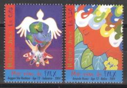 UNO Genf 503/04 ** Postfrisch - Genf - Büro Der Vereinten Nationen