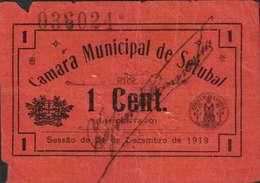 CÉDULA DE  - 1 CENTAVO 24-12-1919 - Nº.036024 - Portugal