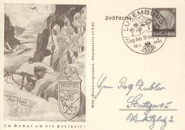 Luxemburg Ganzsache P5/03 O - Occupation 1938-45