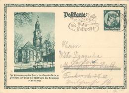 Deutsches Reich Ganzsache P248 O - Germania