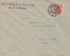 Deutsches Reich 145II Auf Brief - Deutschland