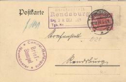 Deutsches Reich Dienst 28 Auf Karte - Dienstpost