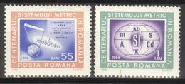 Rumänien 2533/34 ** Postfrisch - 1948-.... Republiken