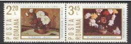 Rumänien 3258/59 Waag. Paar ** Postfrisch - Ungebraucht
