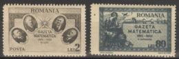 Rumänien 900/01 ** Postfrisch - Ungebraucht