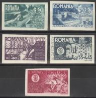 Rumänien 908/12 ** Postfrisch - Ungebraucht